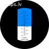 Analogais medus mitruma refraktometrs